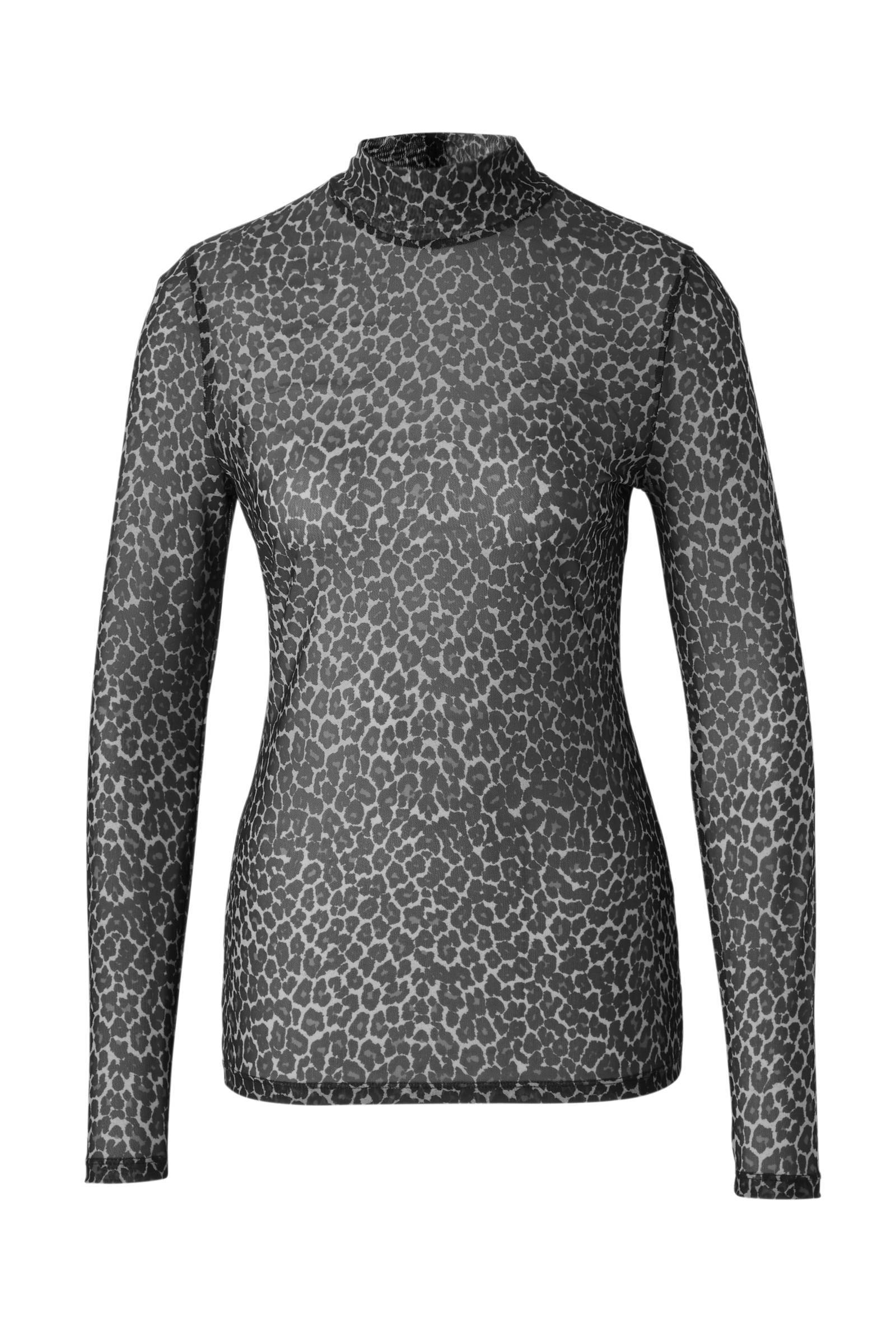 whkmp's own mesh top met panterprint (dames)