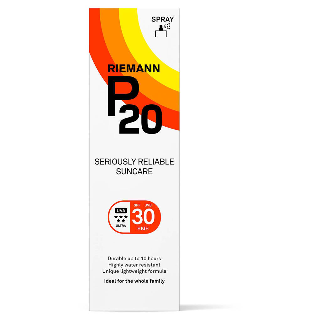 P20 zonnebrand spray SPF30 - 100 ml