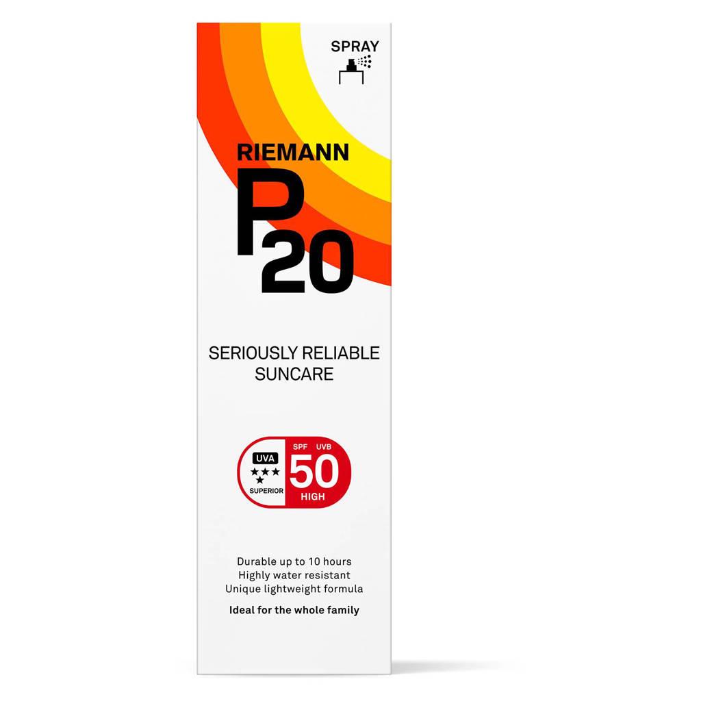 P20 SPF 50 zonbescherming spray - 100 ml