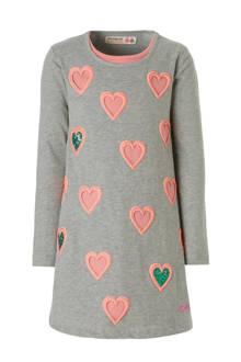 A-lijn jurk met hartjes print