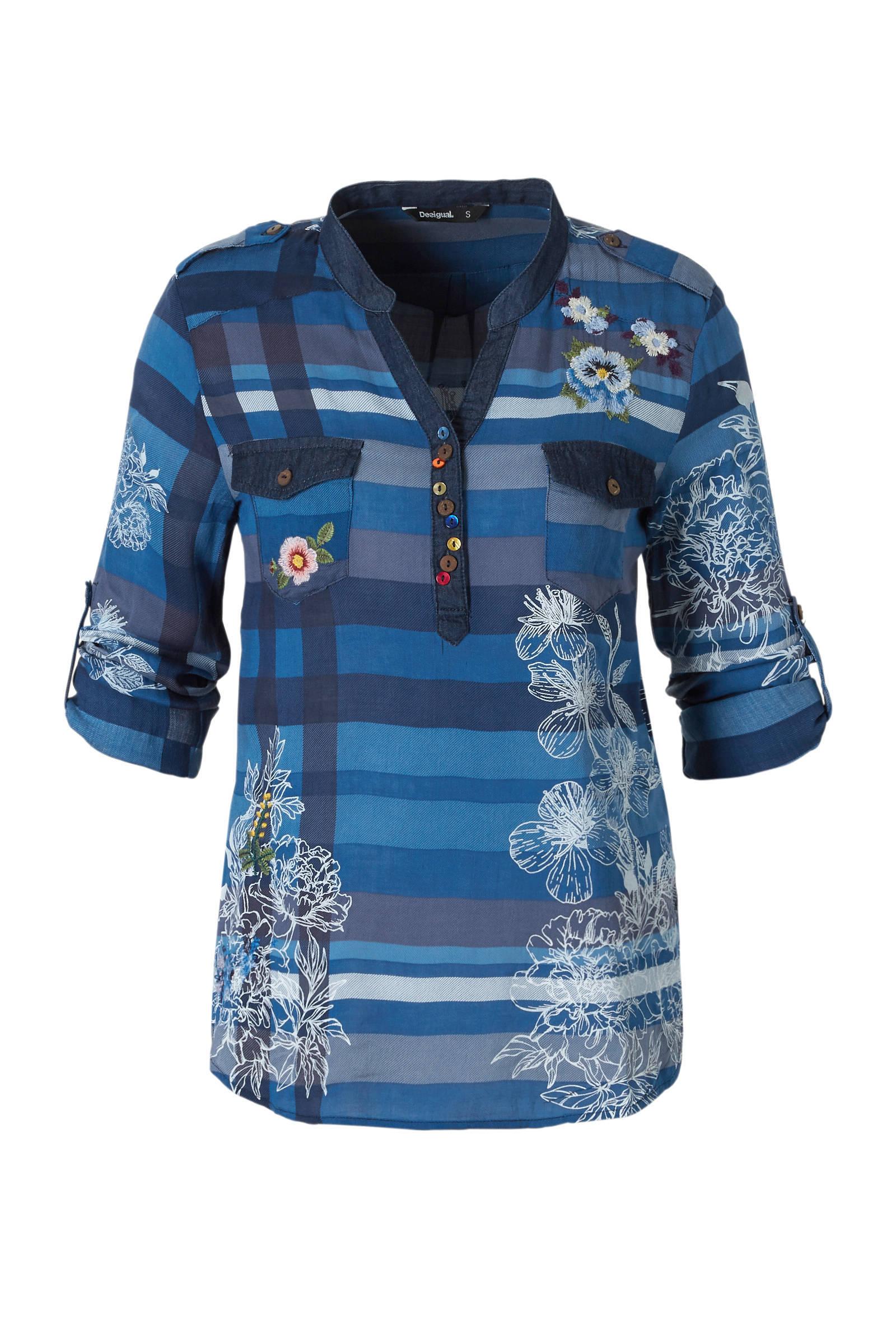 blouse Desigual met blouse met borduursels borduursels blouse Desigual met blouse borduursels Desigual Desigual gqdAInBwIp