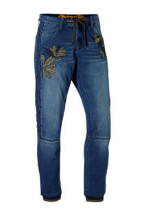 Desigual baggy jeans met borduursels (dames)