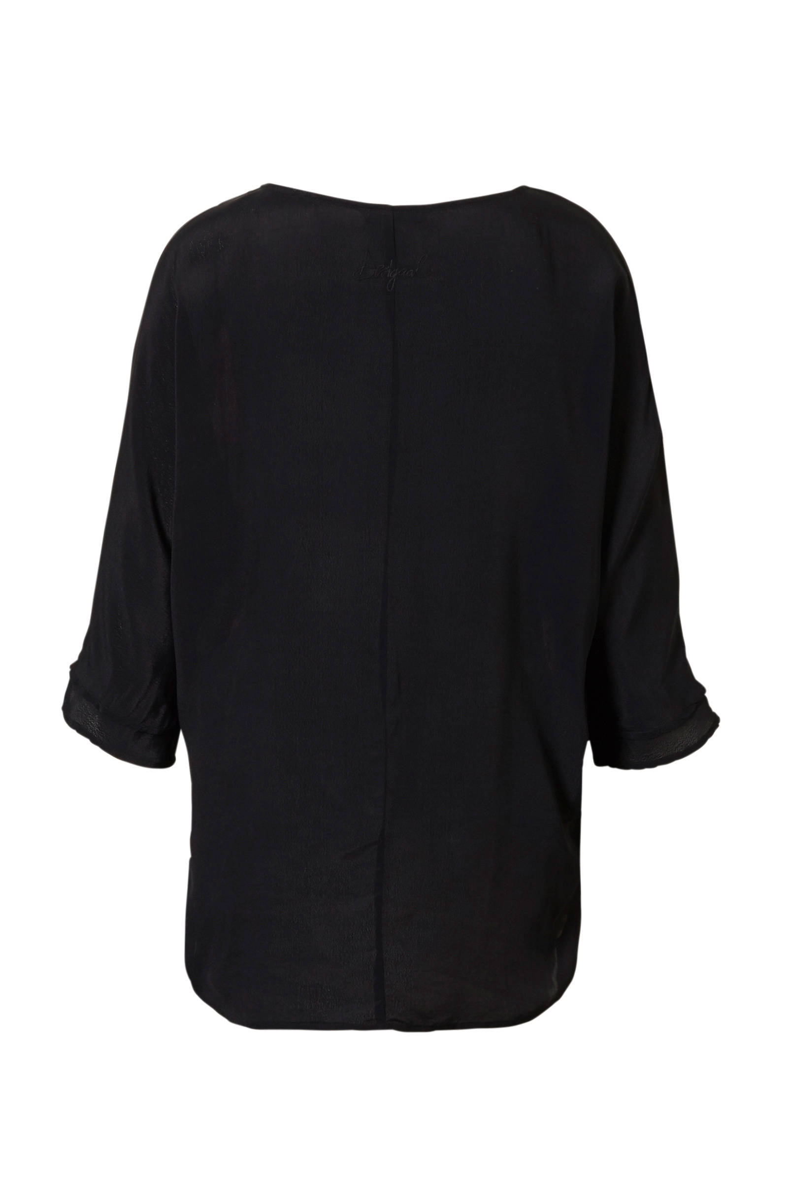 Desigual bloemenprint met blouse Desigual blouse tgrqIRr