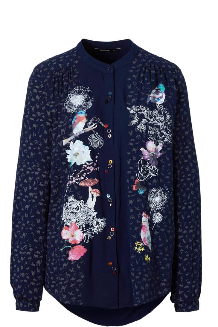 met blouse Desigual Desigual blouse print met IwpqTqYn0