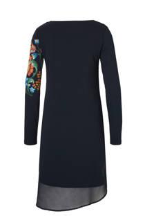 Desigual jurk met bloemenprint zwart