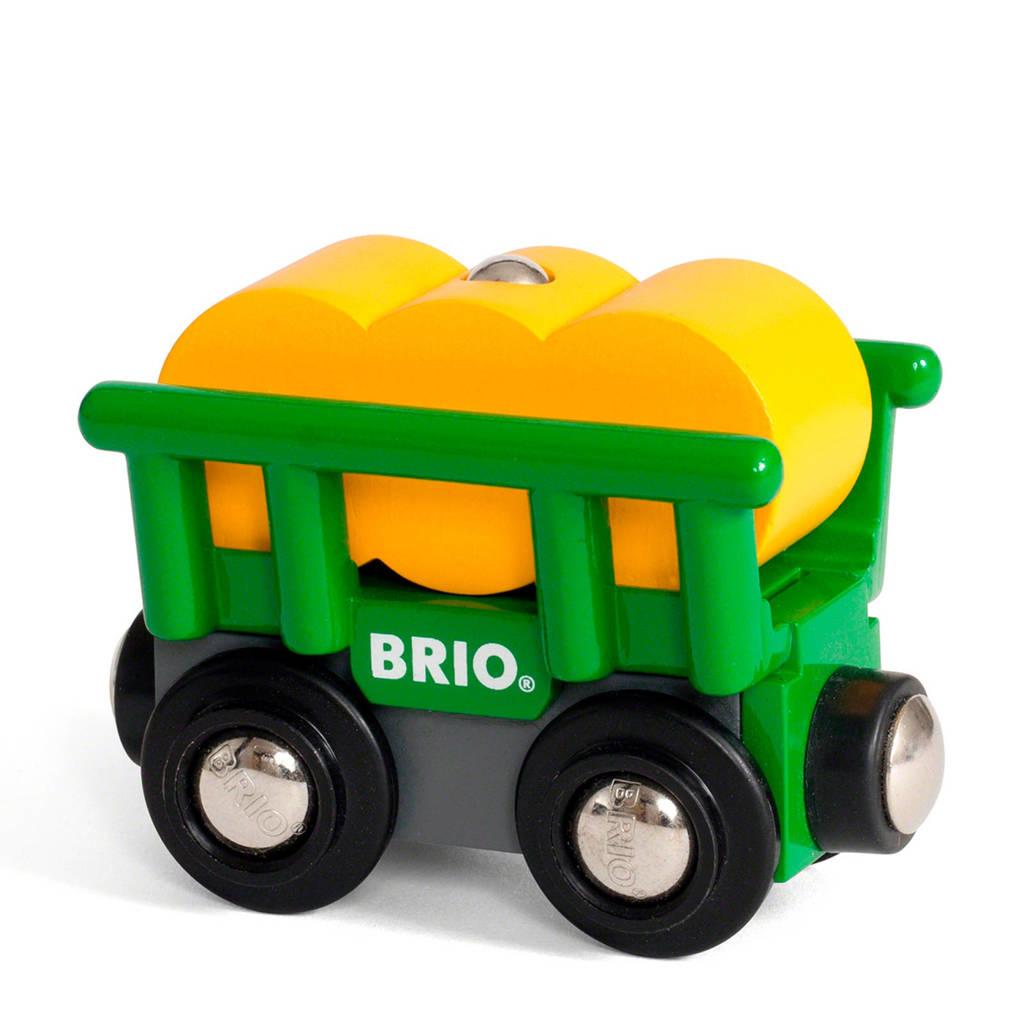 Brio houten hooi wagon
