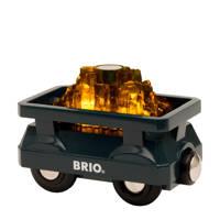 Brio houten lichtgevende goudwagon