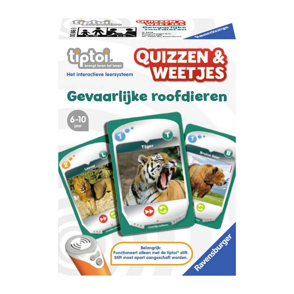 Ravensburger Tiptoi  Quizzen & Weetjes gevaarlijke roofdieren