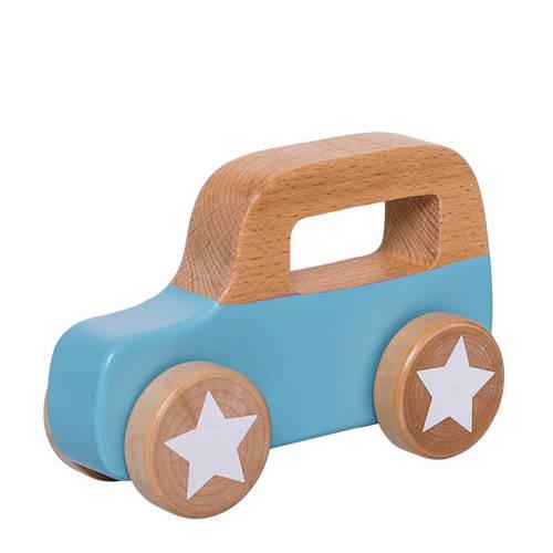 speelgoed auto blauw