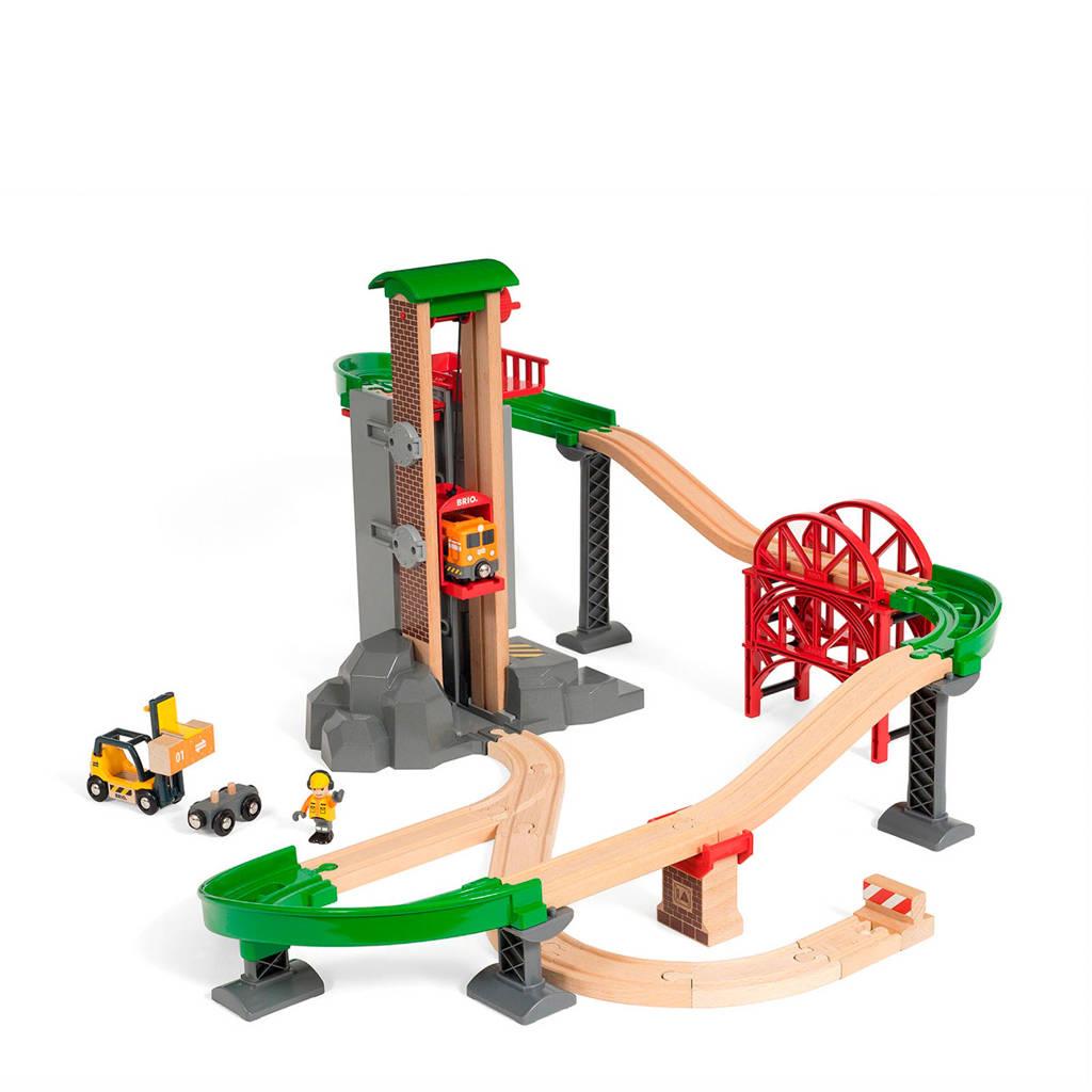 Brio houten Lift & Load treinset