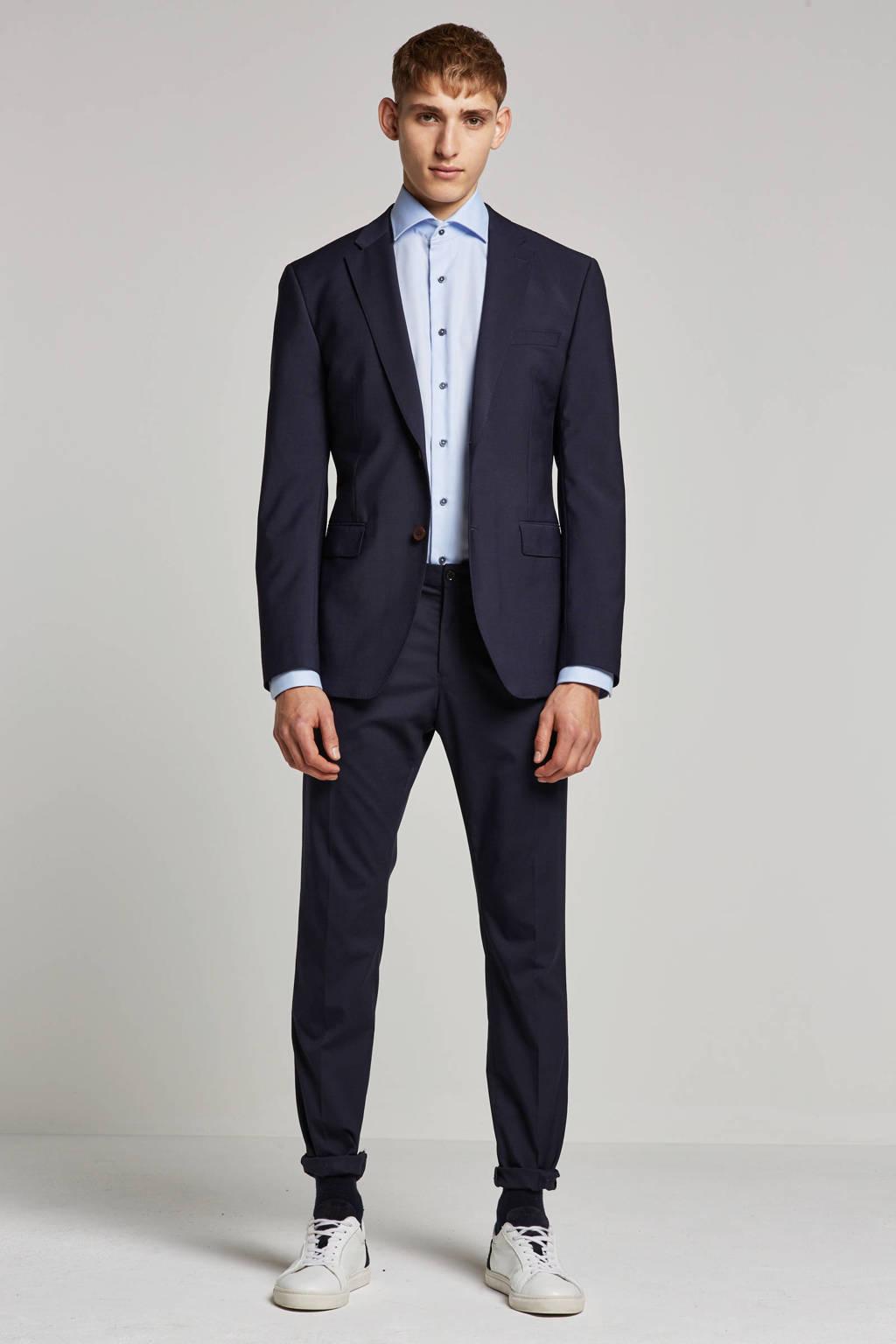ESPRIT Men Collection slim fit colbert blauw, Blauw