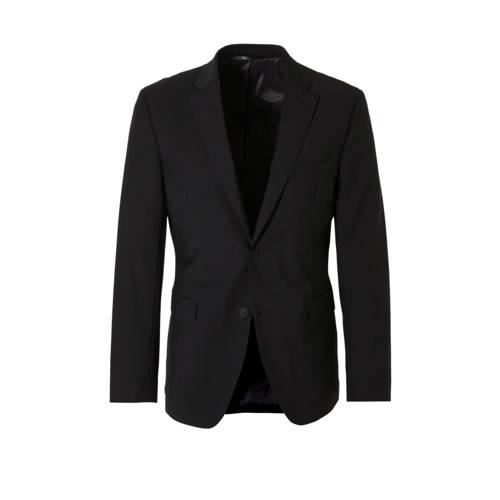 ESPRIT Men Collection slim fit colbert zwart