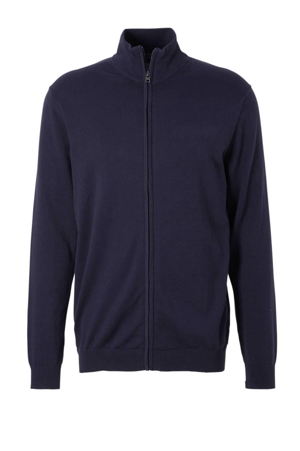 ESPRIT Men Casual vest, Blauw