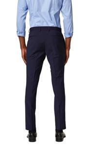 ESPRIT Men Collection slim fit pantalon marine, Marine