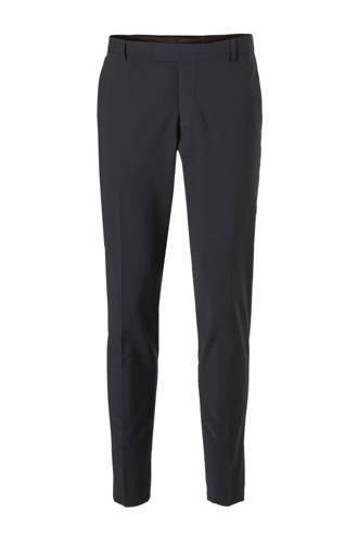 Men Collection slim fit pantalon marine