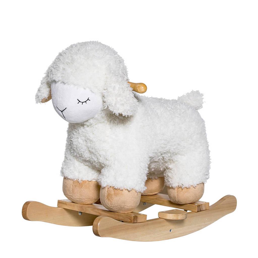Bloomingville Mini houten hobbelschaap