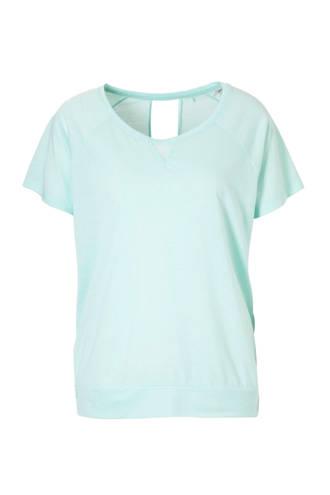 Women Sports sport T-shirt mintgroen