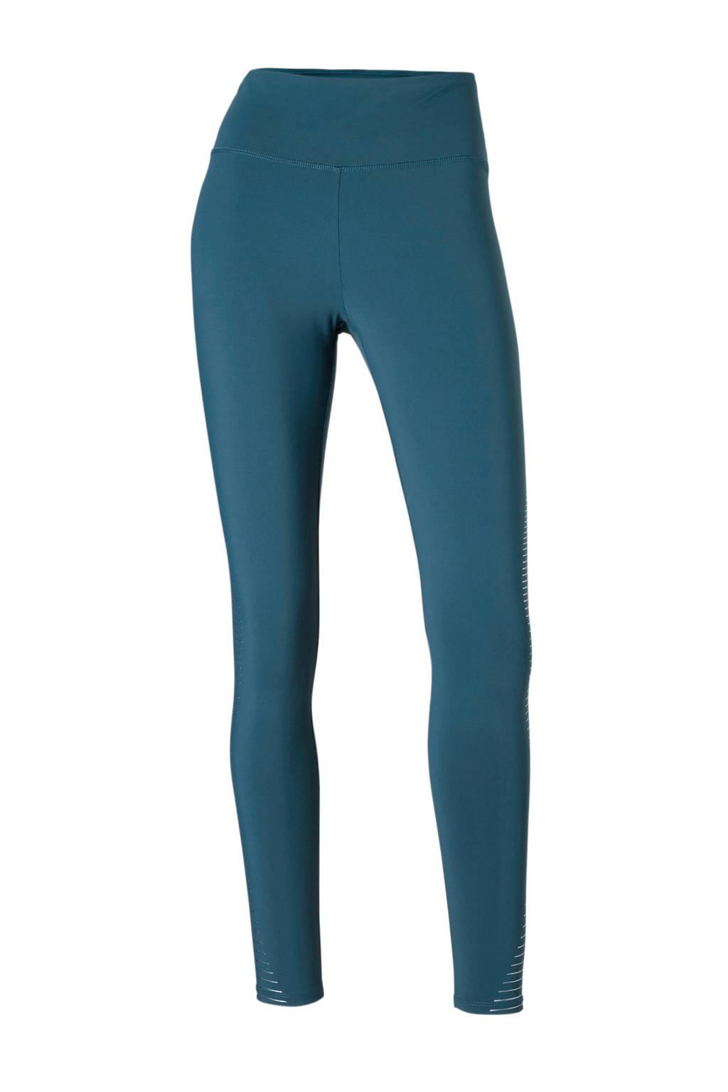 ESPRIT Women Sports 7/8 sportlegging blauw, Blauw/zilver