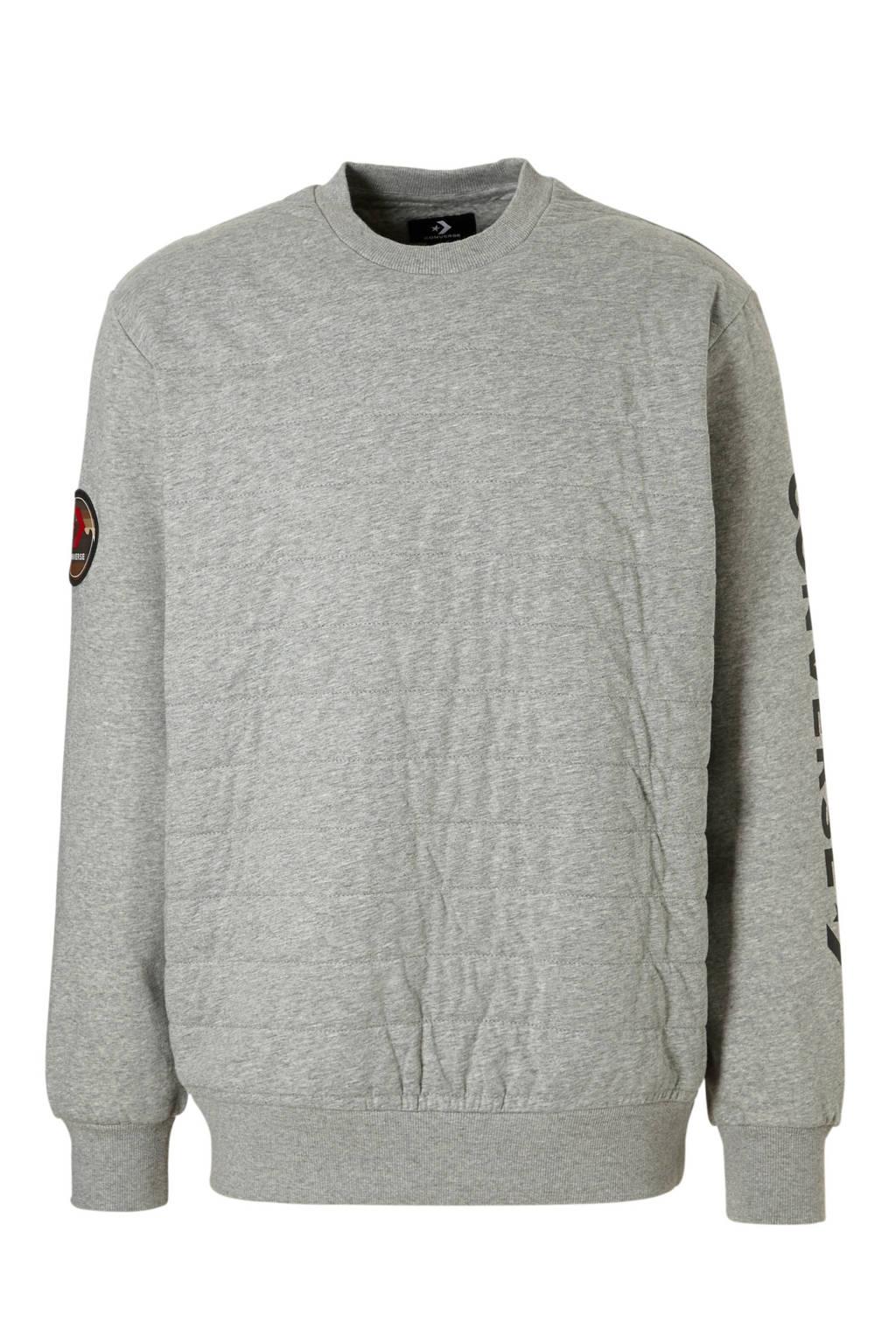 Converse   sportsweater grijs, Grijs