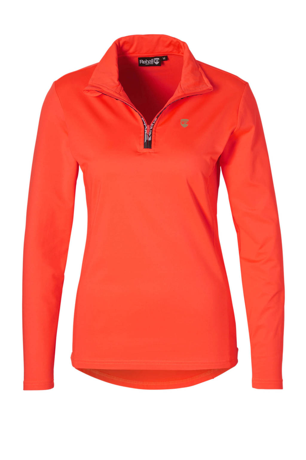 Rehall skisweater Holly-R koraalrood, Koraalrood