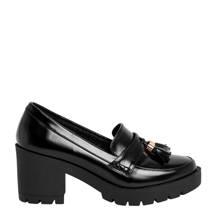 loafers met blokhak