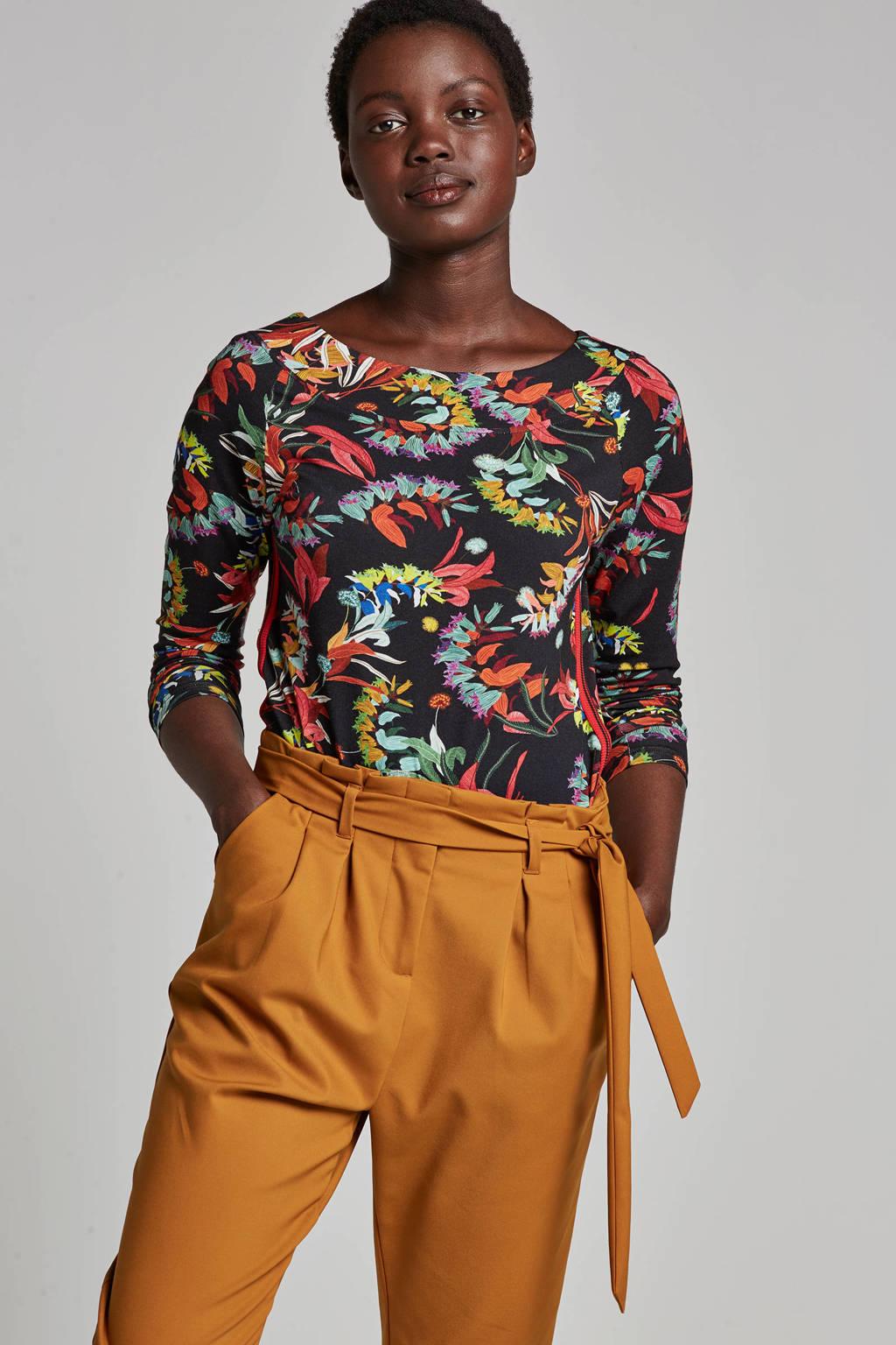Geisha top, Multicolor