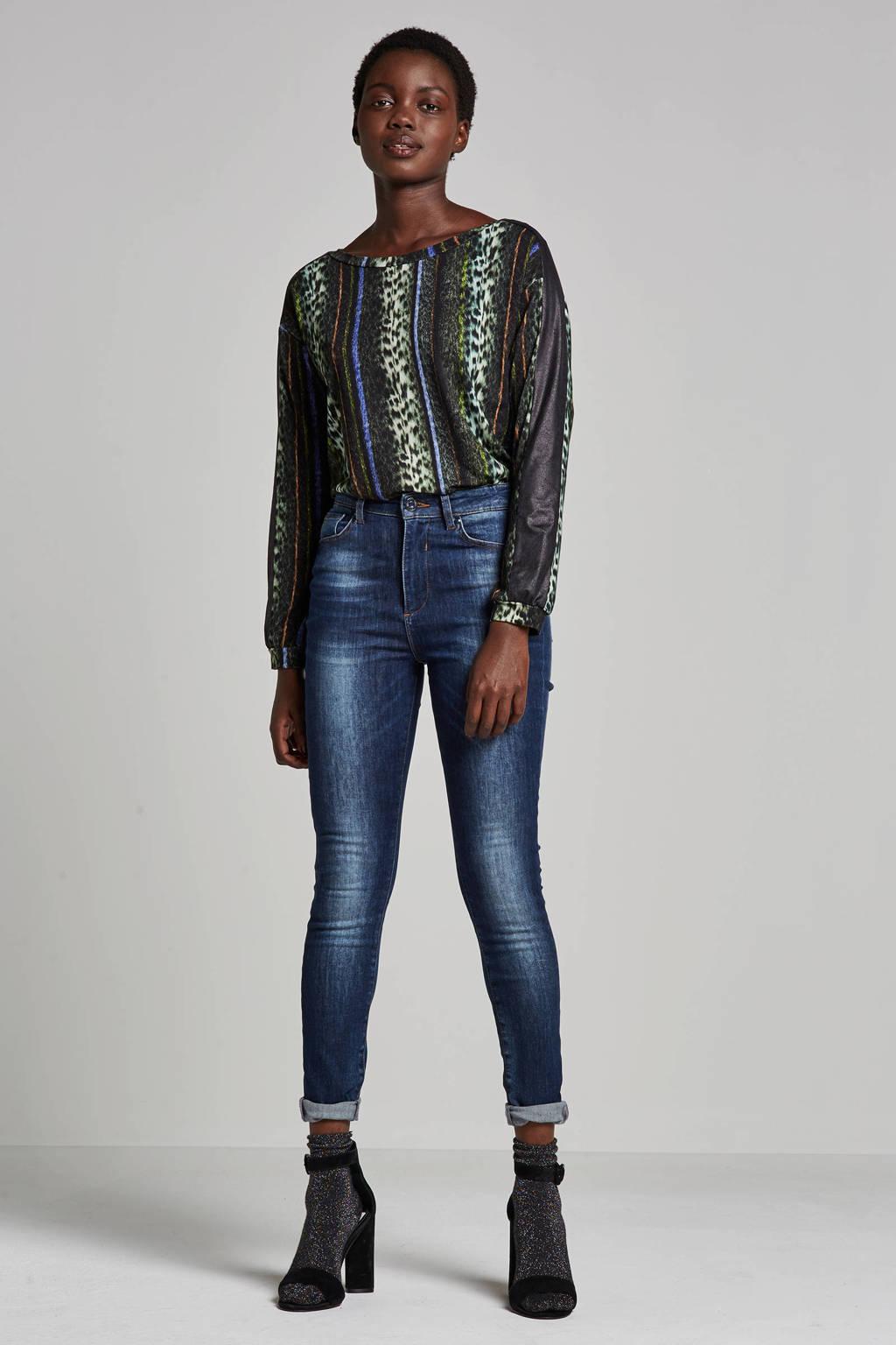 Geisha high waist skinny fit jeans, Denim