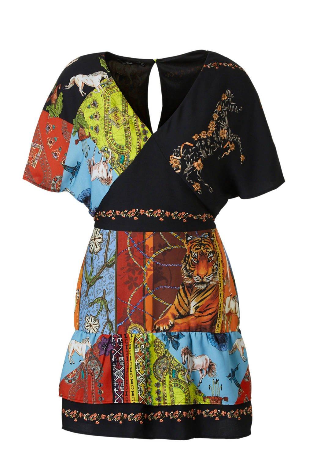 edd0f3941ba35b Desigual jurk met all-over print