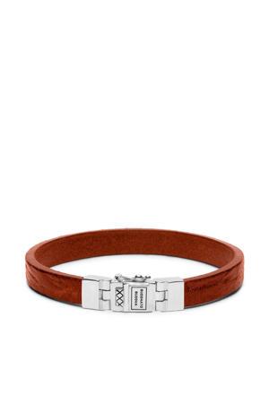 leren Essential armband - BTB186BR