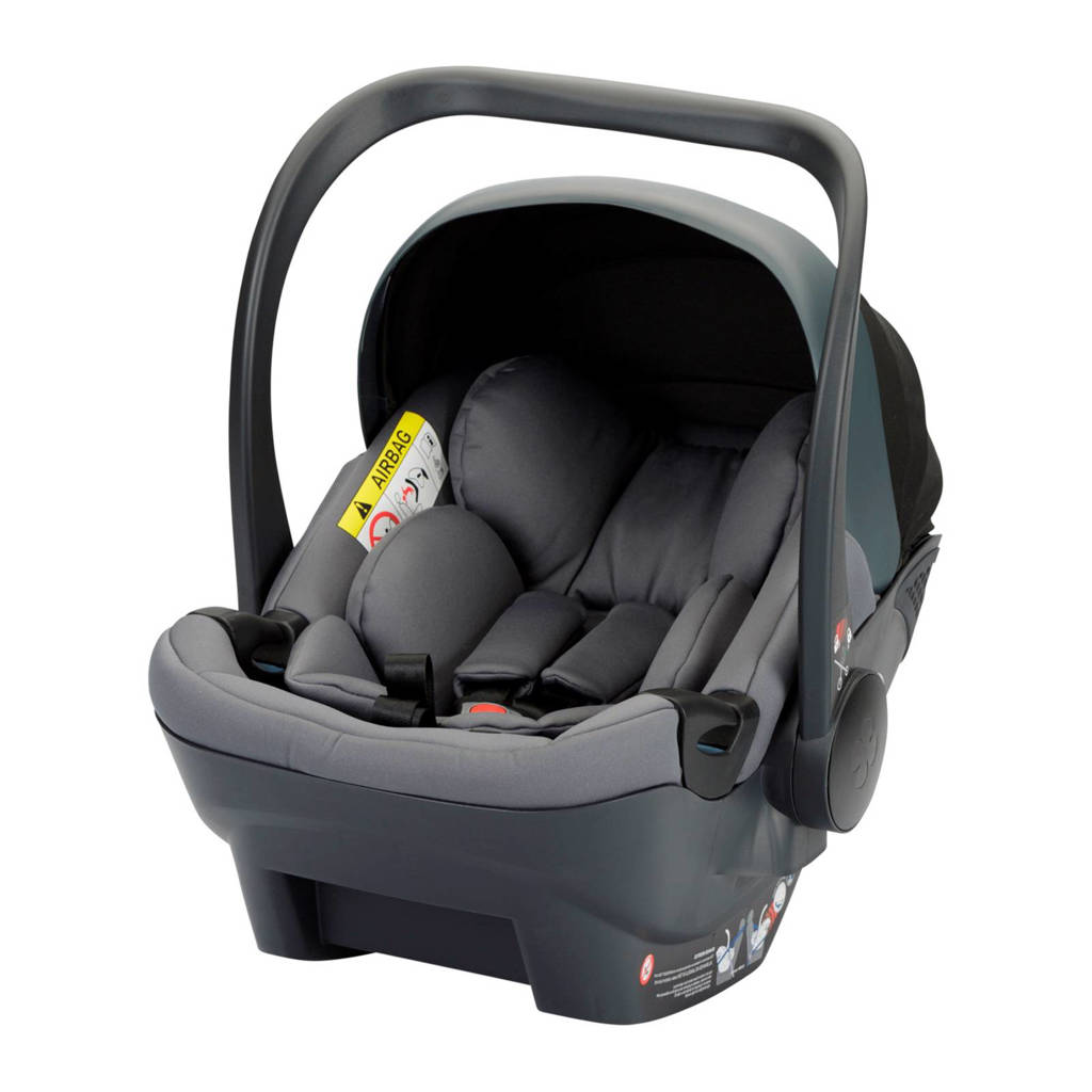 Kidsriver June i-Size autostoel groep 0 antraciet, Antraciet