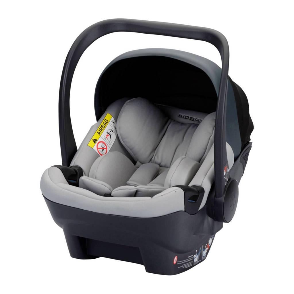 Kidsriver June i-Size autostoel groep 0 grijs, Grijs