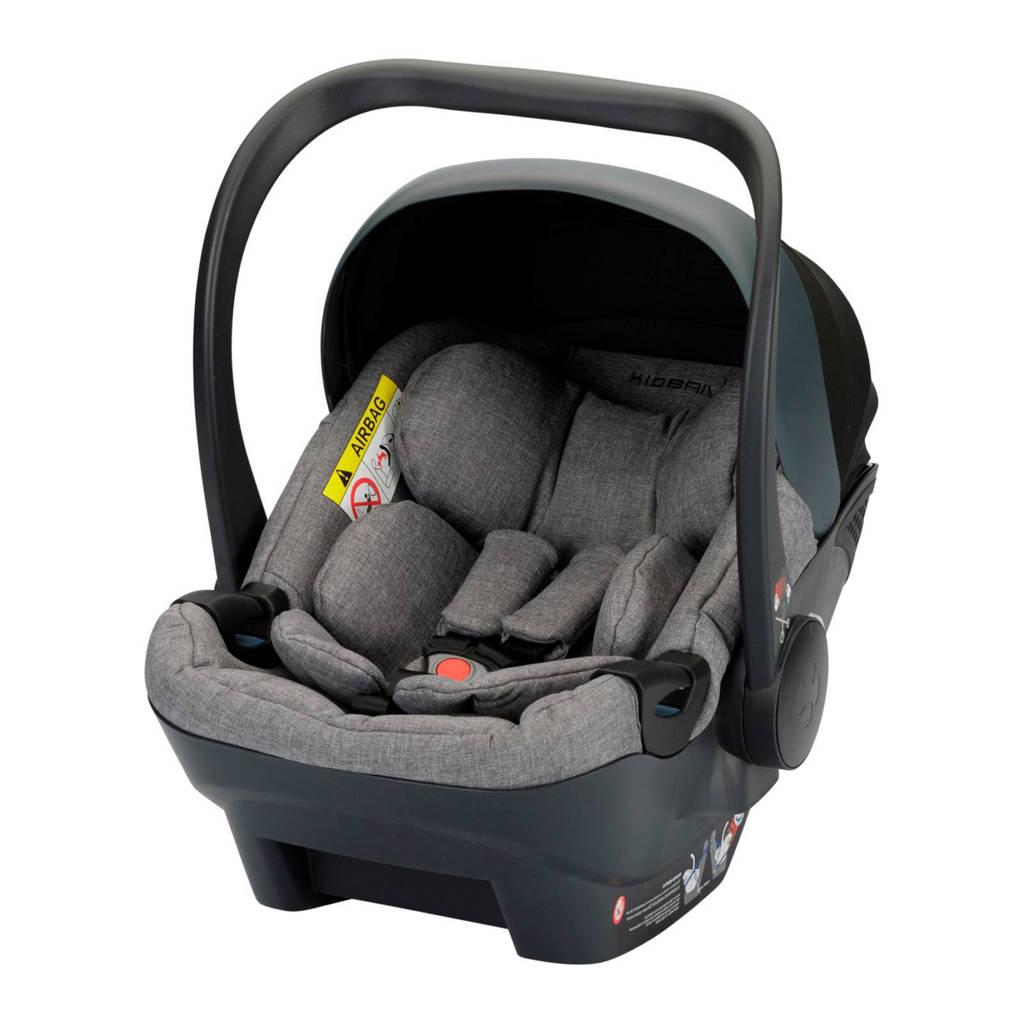 Kidsriver June i-Size autostoel groep 0 melange, Melange