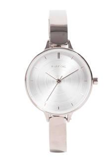 horloge zilverkleurig
