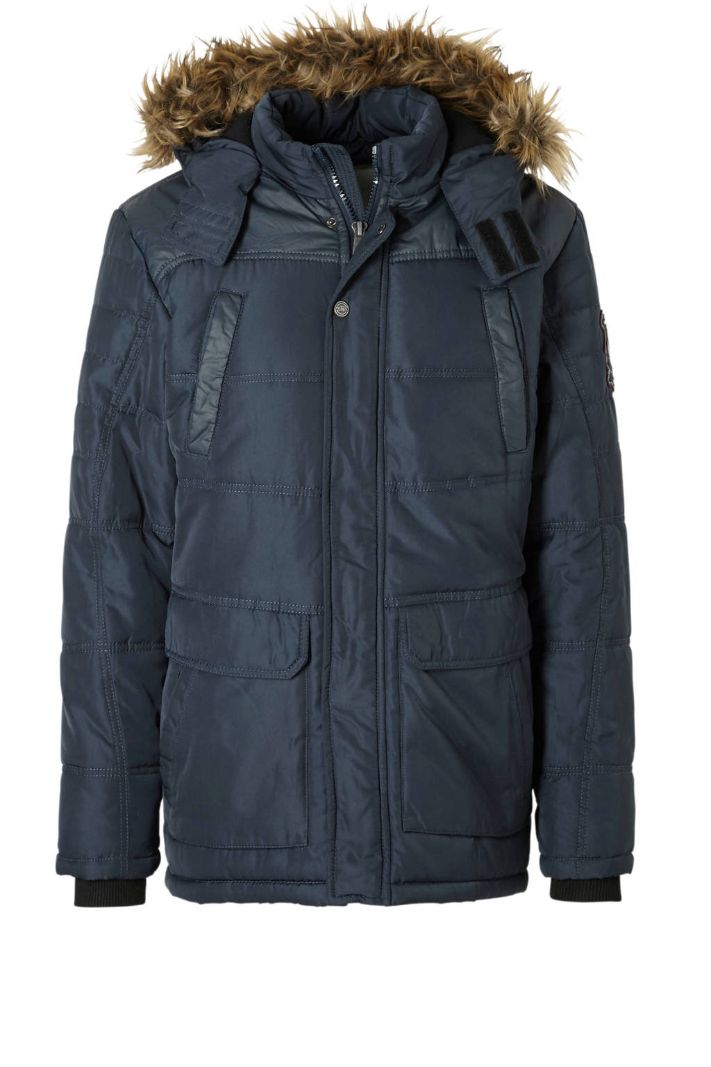 Petrol Industries jas donkerblauw, Donkerblauw
