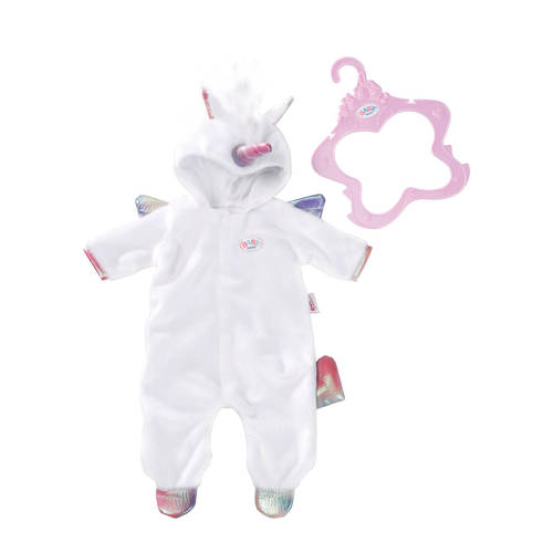 Zapf Creation Baby Born eenhoorn outfit