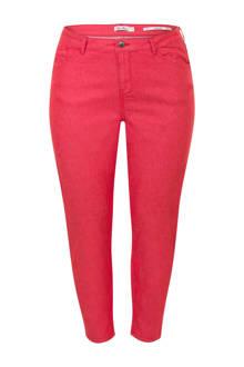 Plus slim fit jeans rood