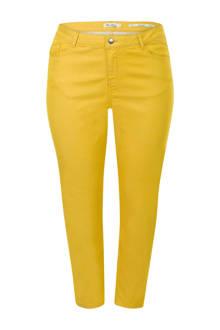 Plus slim fit jeans geel