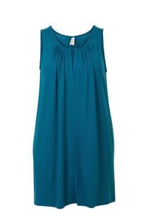 Miss Etam Plus tuniek blauw (dames)