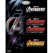 Avengers 1-3 (Blu-ray)