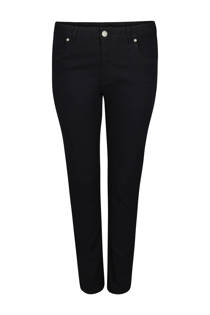 Paprika slim fit jeans met push-up zwart (dames)