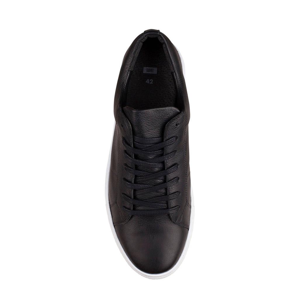 Fashion Fashion Leren We Sneakers Zwart Sneakers Leren We 1pgqBqf