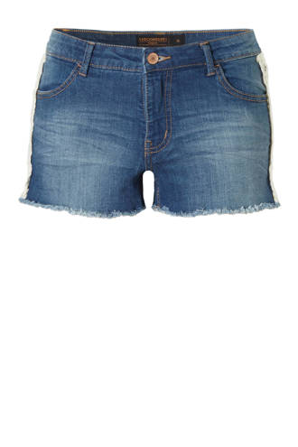 Clockhouse jeans short met borduurbies