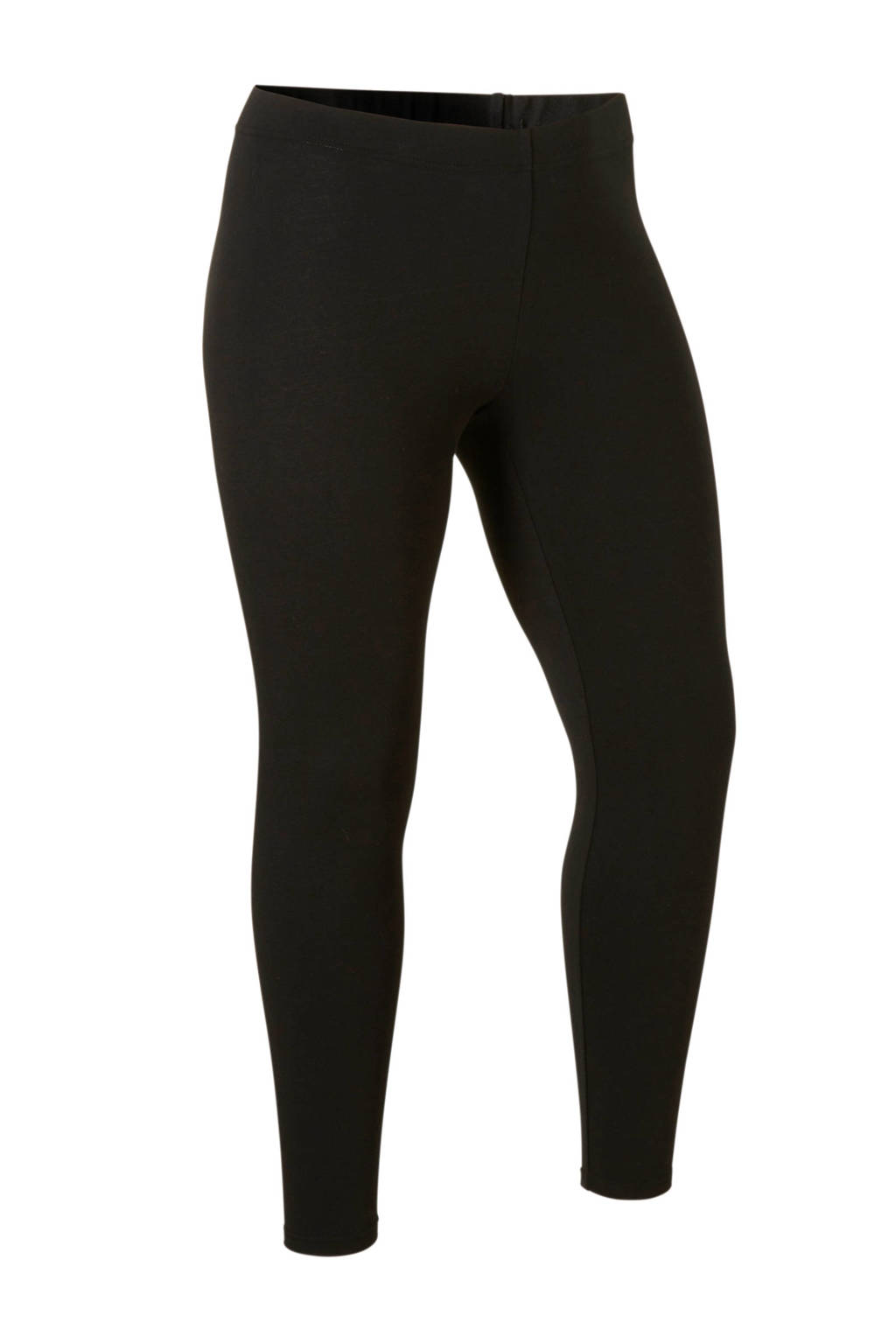 Only Play Curvy 7/8 sportbroek zwart, Zwart/wit