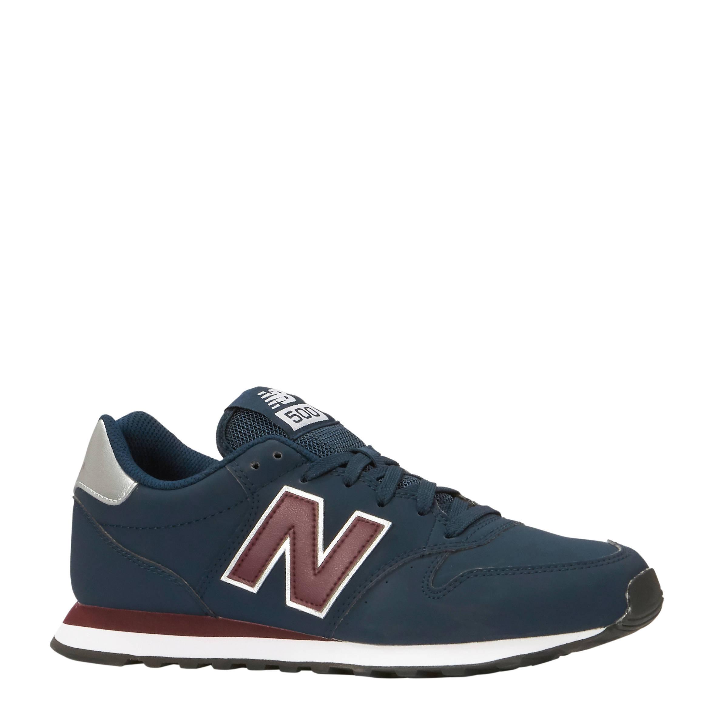d4c66065478 New Balance GM500 sneakers donkerblauw   wehkamp