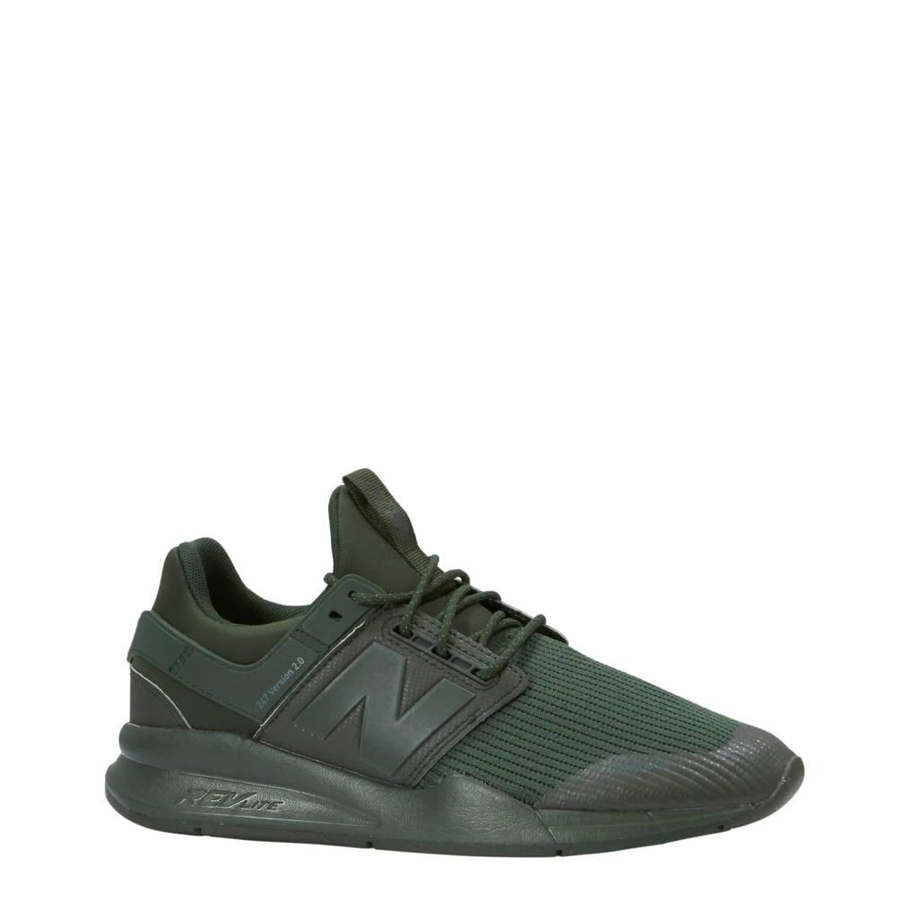 New Balance   MS247 sneakers, Donkergroen