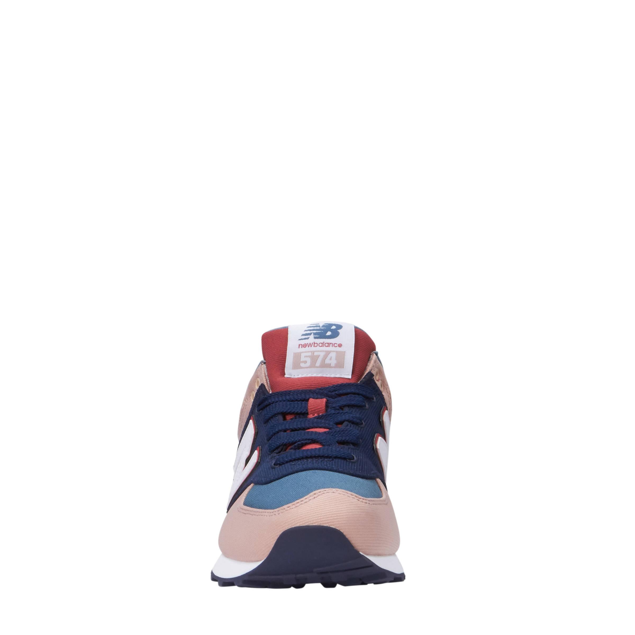 new balance wl574 blauw