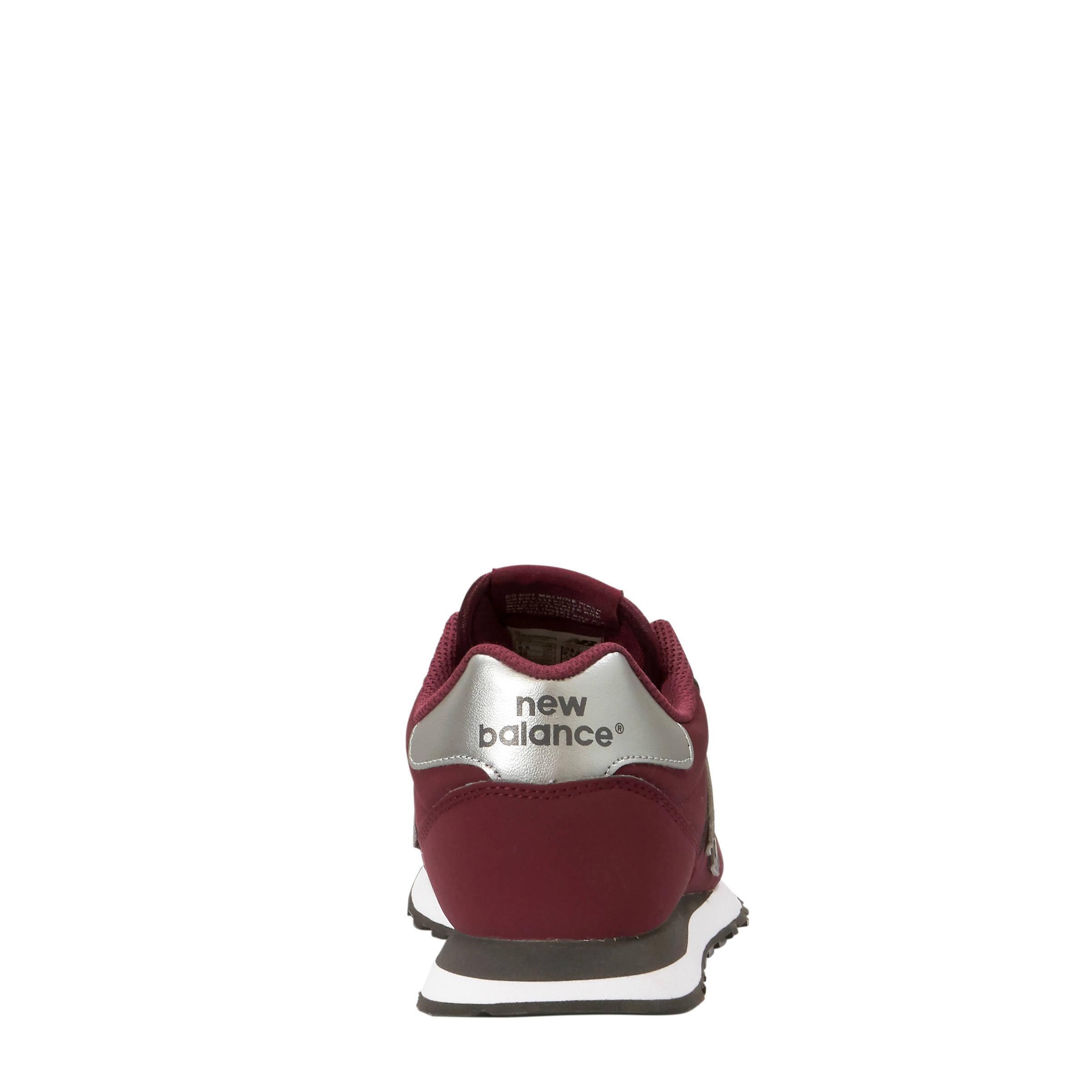 c4305572957 New Balance GM500 sneakers donkerrood   wehkamp