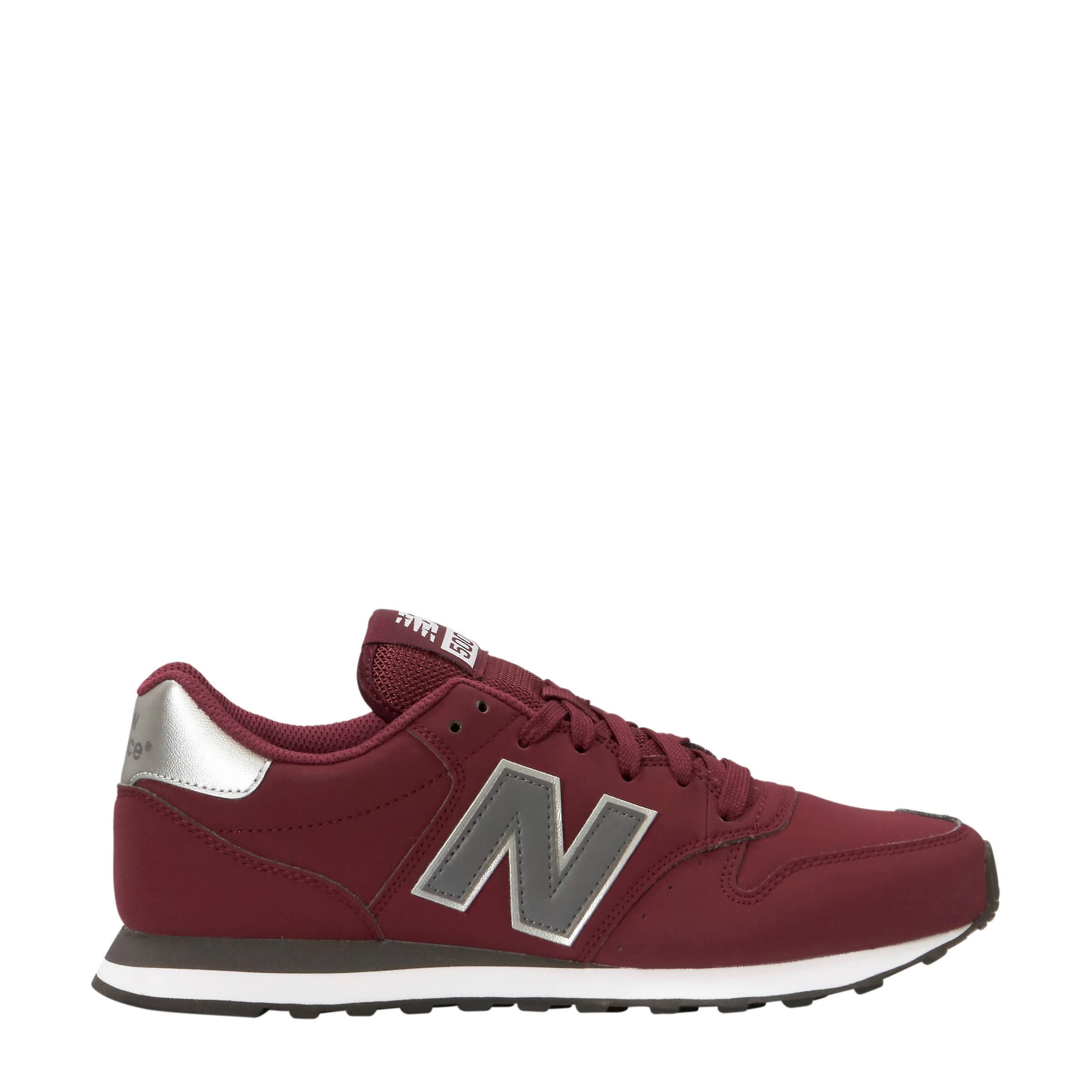 182fd98a9d6 New Balance GM500 sneakers donkerrood   wehkamp