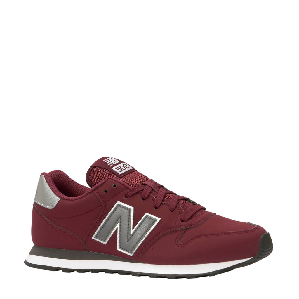 New Balance  GM500 sneakers donkerrood, Donkerrood