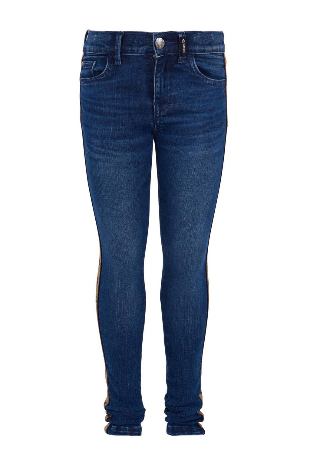 Retour Denim skinny jeans Truus, Donkerblauw
